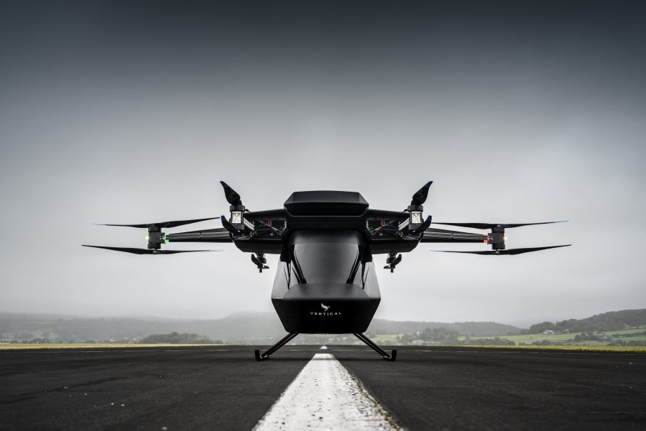 World First: Vertical Aerospace Flies Electric Air Taxi Capable of Carrying 250KG
