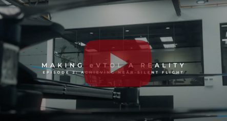 Making eVTOL a Reality: Achieving Near-Silent Flight