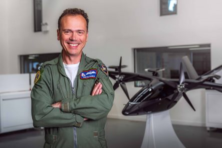 Vertical hires renowned test pilot  as it enters next phase of development