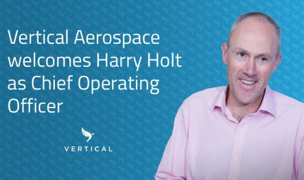 Vertical Aerospace recruits new COO from Rolls-Royce